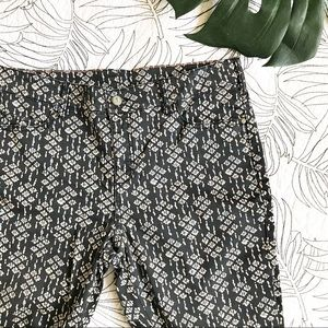 Anthropologie • Patterned Print Skinny Jean